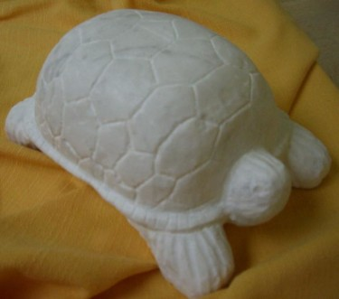 TORTUE - Sculpture en marbre de Carrare